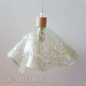 lampa wisząca z kolekcji meduza, lampa, oświetlenie, szkło, glass, spotlight