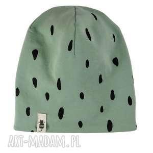 oryginalny prezent, cudi kids zimowa czapka spots, czapka, beanie, mięta