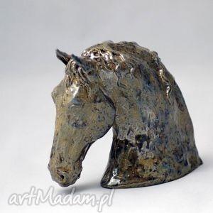 AzulHorse Popiersie konia   Figurka   ceramika