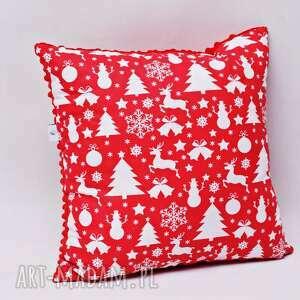 Pomysł na prezent święta: Poduszka świąteczna, na święta, ozdobna
