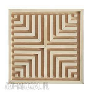 hand made dekoracje obraz z drewna, dekoracja ścienna /2/