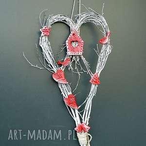 świąteczne serce -wianek z kolekcji weihnachten dekoracja - święta
