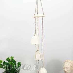 handmade dekoracje ceramiczny łapacz wiatru, snu - hygge