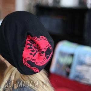 ręcznie wykonane czapki czapka na podszewce damska wiosenna orientalna