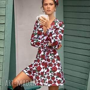 sukienki ross mini - koperowa sukienka