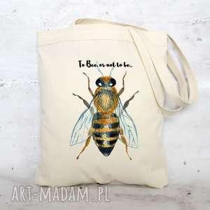 eko torba na zakupy bawełniana PSZCZOŁA, torba, eko, ekologiczna, półócienna