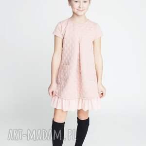 tunika dt12r, dziewczęca, wygodna, stylowa, tunika, modna ubranka dla dziecka
