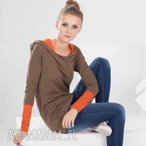 hoodie bawełniana bluzka z kapturem, bluza, bluzka, dresowa, kaptur, dzianina