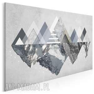 obraz na płótnie - góry zima 120x80 cm (42901)
