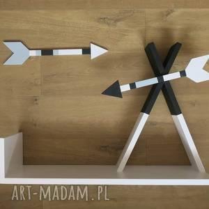 ręczne wykonanie pokoik dziecka drewniana półka tipi