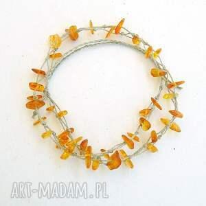 naszyjnik z bursztynami 001, bursztyn biżuteria, biżuteria bursztynem