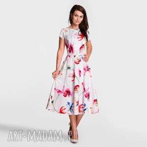 sukienki sukienka klara total midi martina, sukienka