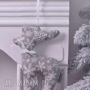 renifer świąteczny szary, ozdoby-święta, dekoracja-pokoju, dekoracje-świąteczne