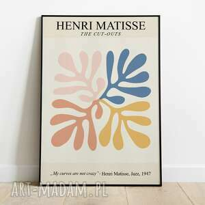 henri matisse, inspiracja, plakat wystawowy 50x70, matisse plakaty
