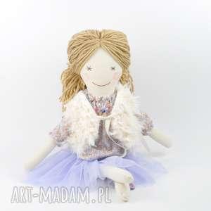 pod choinkę prezent Lalka szmaciana fioletowa tutu, lalka, szmaciana, szmacianka