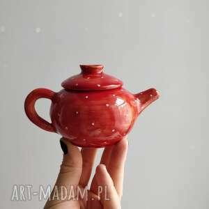 święta, miniaturowa zastawa, ceramika, prezent dla dziewczynki, filiżanki, cajni