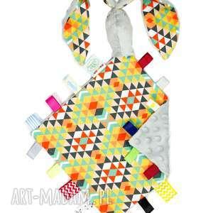 maskotki zając szeleszczący azteki szary, maskotka, przytulanka, zając, zajączek