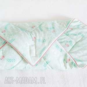 rożek niemowlęcy coramelli - rożek, otulak, becik, noworodek, kocyk, sen