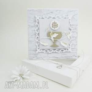 pierwsza komunia - w pudełku, komunia, zaproszenie, pamiątka, życzenia