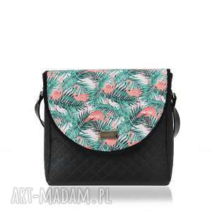 hand-made na ramię torebka puro summer 1066 flamingos 2
