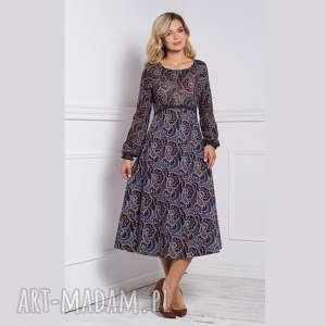 Sukienka empiria total midi andrea sukienki livia clue