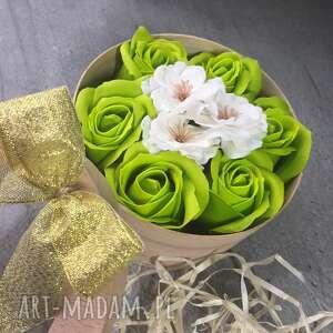 box flowers with soap kwiaty z mydełka, flowers, box, super, prezent
