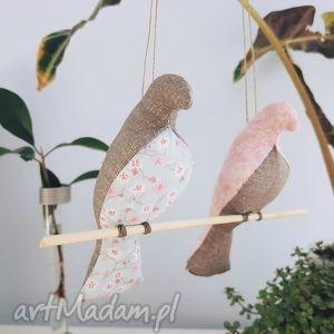 dekoracje pliszki na gałązce, pliszki, pliszka, ptaszki, zawieszka dom
