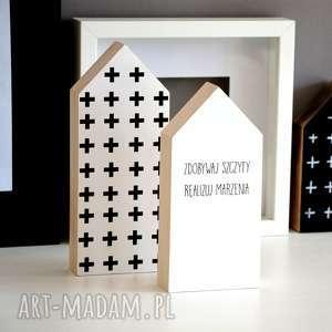 3 x domki drewniane, domki, domek, drewno, dom, skandynawski