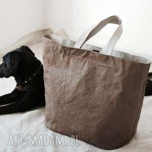 hand-made podróżne torba washpapa xxxl z zamkiem