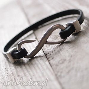 ręcznie wykonane męska bransoletka infinity - man