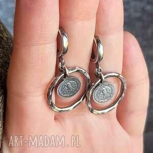 zamówienie indywidualne dla p asi, z monetkami, zawieszkami, srebrne