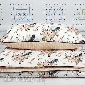 Zestaw do łóżeczka Custom! tkaniny Spoonflower, pościel, kocyk, poduszka, spoonflower