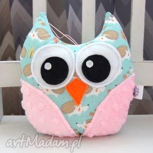 handmade na święta prezenty mini sowa - maskotka przytulanka