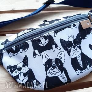 CATOO accessories! Torebka biodrowa Nerka Buldożki
