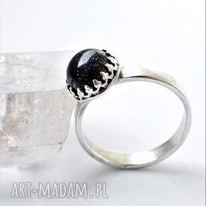 wyjątkowy prezent, pierścionek galaxy, srebro, koronka, noc kairu