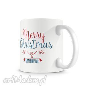 kubek - merry christmas, kubek, prezent, święta, mikołaj, kawa, hebrata, wyjątkowy