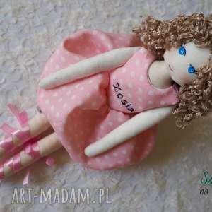 lalka 148 - przytulanka, szmacianka, bawełniana, lalka, ręcznie, szyta