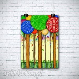 drzewa a1 - drzewa, plakat