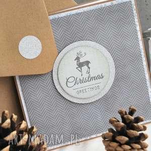 hand-made pomysł na prezent na święta christmas greetings lub radosnych świąt bożego narodzenia