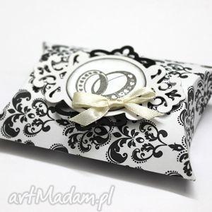 ślub pudełko b w, pudełko, ślub, wesele, podziękowania, kominia, chrzest