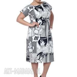 ręcznie robione sukienki sukienka maxi, wyjątkowa, anime, bawełna najwyższej jakości