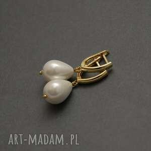 prezent na święta, kolczyki z perełkami, perła, wyjściowe, delikatne, eleganckie