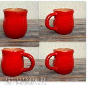 komplet 4 kubków ceramicznych na zamówienie, ceramika, kubki, rękodzieło, glina