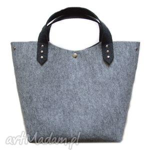 Prezent Minimalistyczna filcowa torba, filc, torebka, rubenart, prezent