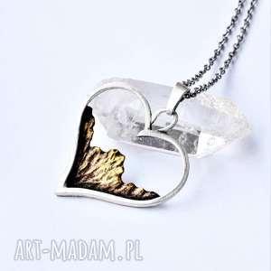 naszyjnik z miłości do gór, góry prezent, ze srebra, prezent