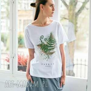 handmade koszulki paproć t-shirt oversize