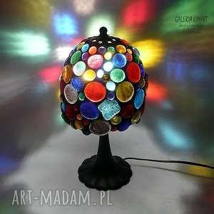 prezenty na święta, lampy prezent niezwykły lampa hand made z kaboszonów gwarantująca