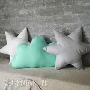 komplet poduszek do pokoiku dziecięcego, poduszki, chmurka, księżyc