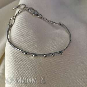 bransoletka srebrna, srebrna, minimalistyczna pransolet, srebro 925