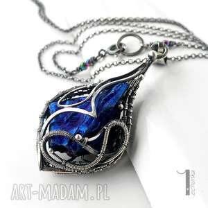 hand-made naszyjniki constellatio iv srebrny naszyjnik z kwarcem tytanowym
